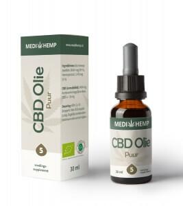 Biologische CBD Olie 5% 30ml (Medihemp) 001