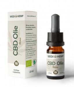 CBD olie 18% 10ml Medihemp