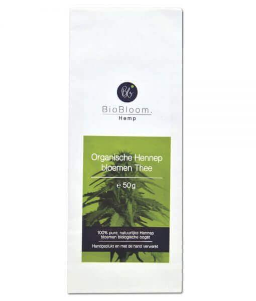 BioBloom Hennepbloem thee 50g Bio