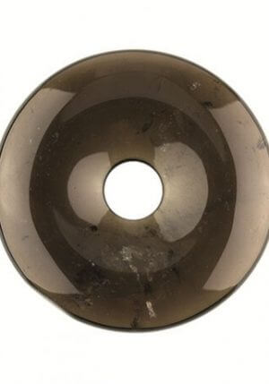 Donutsteen 5cm Rookkwarts