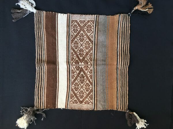 Traditioneel Despacho doek bruin