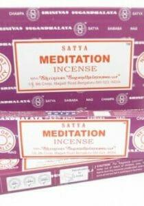 Meditatie wierook
