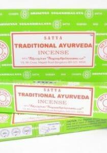 Traditionele ayurvedische wierook