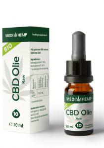 cbd-olie-10-10ml-medihemp-raw