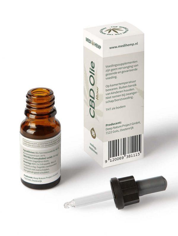 CBD Olie 18% 10ml (Medihemp)