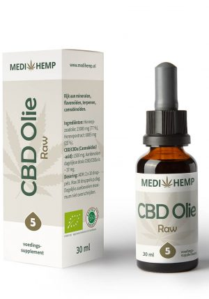 CBD Olie 5% 30ml (Medihemp) Raw